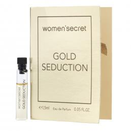 WOMEN SECRET GOLD SEDUCTION 1.5 ML EDP VIAL