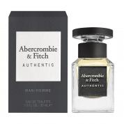 ABERCROMBIE AND FITCH AUTHENTIC 1 OZ EAU DE TOILETTE SPRAY FOR MEN