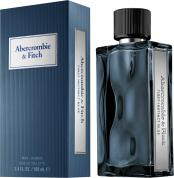 ABERCROMBIE & FITCH FIRST INSTINCT BLUE 3.4 EAU DE TOILETTE SPRAY FOR MEN