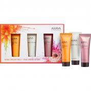AHAVA DEADSEA WATER MINERAL HAND CREAM TRIO: MANDARIN & CEDARWOOD HAND CREAM 20ML + AHAVA HAND CREAM 20ML + CACTUS & PINK PEPPER HAND CREAM 20 ML