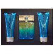 ANIMALE TEMPTATION 3 PCS SET FOR MEN: 3.4 EDT SP + 3.4 AFTER SHAVE BALM + 3.4 HAIR AND BODY WASH