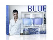 ANTONIO BANDERAS BLUE SEDUCTION 2 PCS SET FOR MEN: 3.4 EDT SP + 3.4 AFTERSHAVE SPLASH