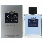 ANTONIO BANDERAS KING OF SEDUCTION 6.8 EAU DE TOILETTE SPRAY FOR MEN