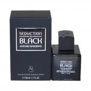 ANTONIO BANDERAS SEDUCTION IN BLACK 1.7 EAU DE TOILETTE SPRAY FOR MEN