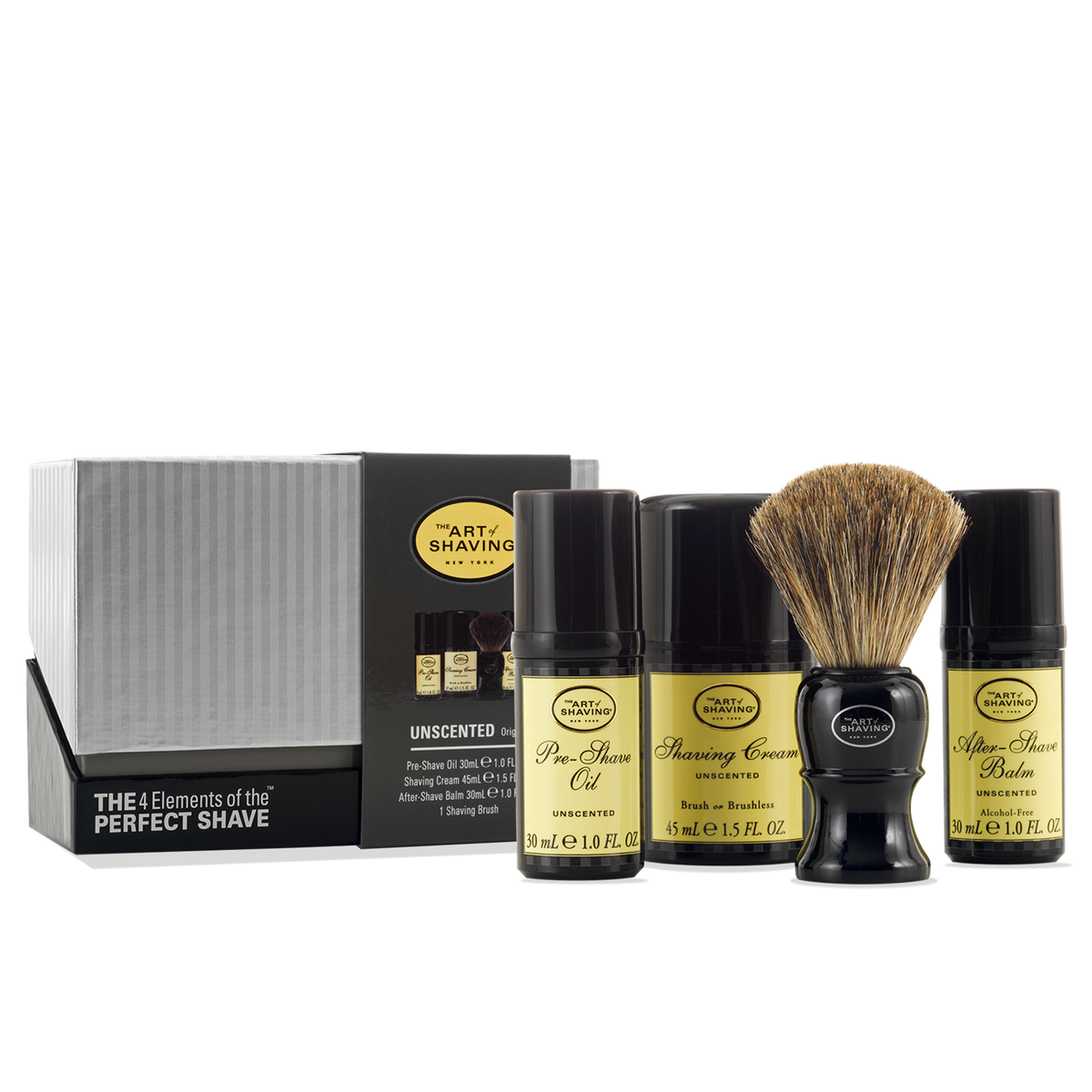 THE ART OF SHAVING UNSCENTED MID SIZE THE 4 ELEMENTS OF THE PERFECT SHAVE