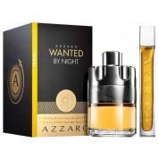 AZZARO WANTED NIGHT 2 PCS SET FOR MEN: 3.4 EAU DE PARFUM SPRAY + 0.5 OZ EAU DE PARFUM