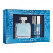 AZZARO CHROME 2 PCS SET: 1.7 EDT SP