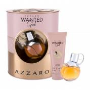 AZZARO WANTED GIRL 2 PCS SET: 1.7 EAU DE PARFUM SPRAY + 3.4 BODY MILK
