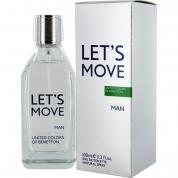 BENETTON LET'S MOVE 3.4 EDT SP FOR MEN