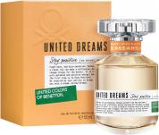 BENETTON UNITED DREAMS STAY POSITIVE 1.7 EDT SP FOR WOMEN