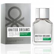 BENETTON UNITED DREAMS AIM HIGH 3.4 EAU DE TOILETTE SPRAY FOR MEN