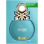 BENETTON COLORS BLOCKS BLUE 2.7 EDT SP FOR WOMEN
