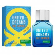 BENETTON UNITED DREAMS ONE SUMMER 3.4 EAU DE TOILETTE SPRAY FOR MEN