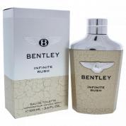 BENTLEY INFINITE RUSH 3.4 EAU DE TOILETTE SPRAY FOR MEN