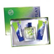 TOUCH OF COOL PLAY 3 PCS SET FOR MEN: 3.4 EDT SP
