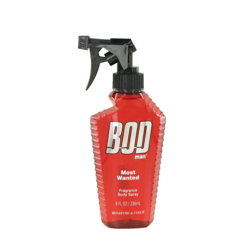 BOD MOST WANTED 8 OZ FRAGRANCE BODY SPRAY