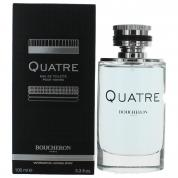 BOUCHERON QUATRE 3.4 EAU DE TOILETTE SPRAY FOR MEN