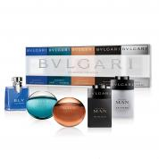 BVLGARI 5 PCS MINI SET FOR MEN (INDIVIDUALLY BOXED)