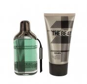 BURBERRY THE BEAT 2 PCS SET FOR MEN: 1.7 EDT SP + 1.7 ASB