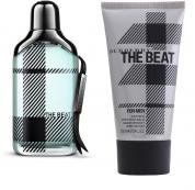 BURBERRY THE BEAT 2 PCS SET FOR MEN: 3.4 EDT SP + 5 OZ A/S/B
