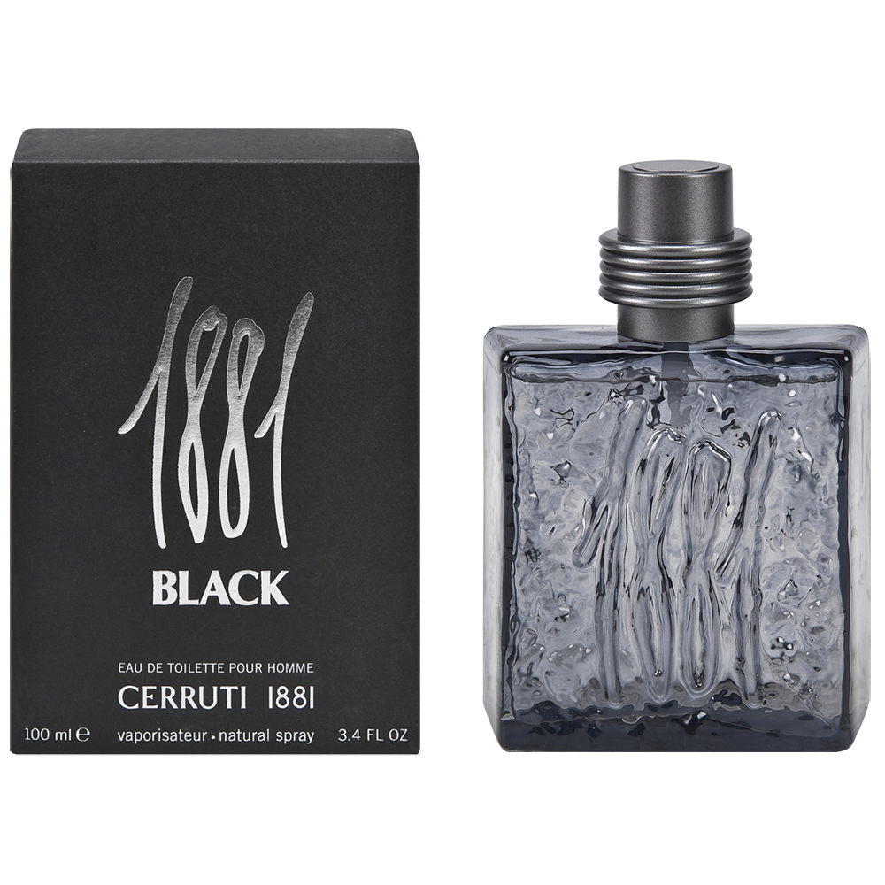 CERRUTI 1881 BLACK 3.4 EDT SP FOR MEN