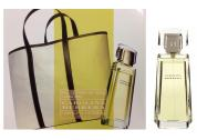 CAROLINA HERRERA 2 PCS SET FOR WOMEN: 3.3 EAU DE PARFUM SPRAY + HANDBAG