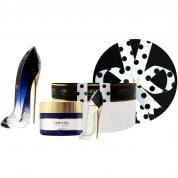 CAROLINA HERRERA GOOD GIRL LEGERE 3 PCS SET: 2.7 EAU DE PARFUM SPRAY + 3.4 BODY CREAM + 0.24 OZ EAU DE PARFUM