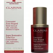 CLARINS SUPER RESTORATIVE TOTAL EYE CONCENTRATE 0.5 OZ