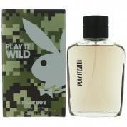 PLAYBOY WILD 3.4 EAU DE TOILETTE SPRAY FOR MEN