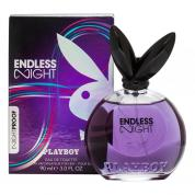 PLAYBOY ENDLESS NIGHT 3 OZ EAU DE TOILETTE SPRAY FOR WOMEN