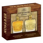 STETSON 2 PCS SET FOR MEN: 2 OZ COLOGNE + 2 OZ AFTERSHAVE