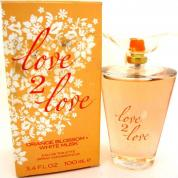 COTY LOVE 2 LOVE ORANGE BLOSSOM & WHITE MUSK 3.4 EDT SP