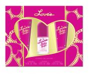 LOVE'S BABY SOFT 3 PCS SET: 1.5 OZ MIST