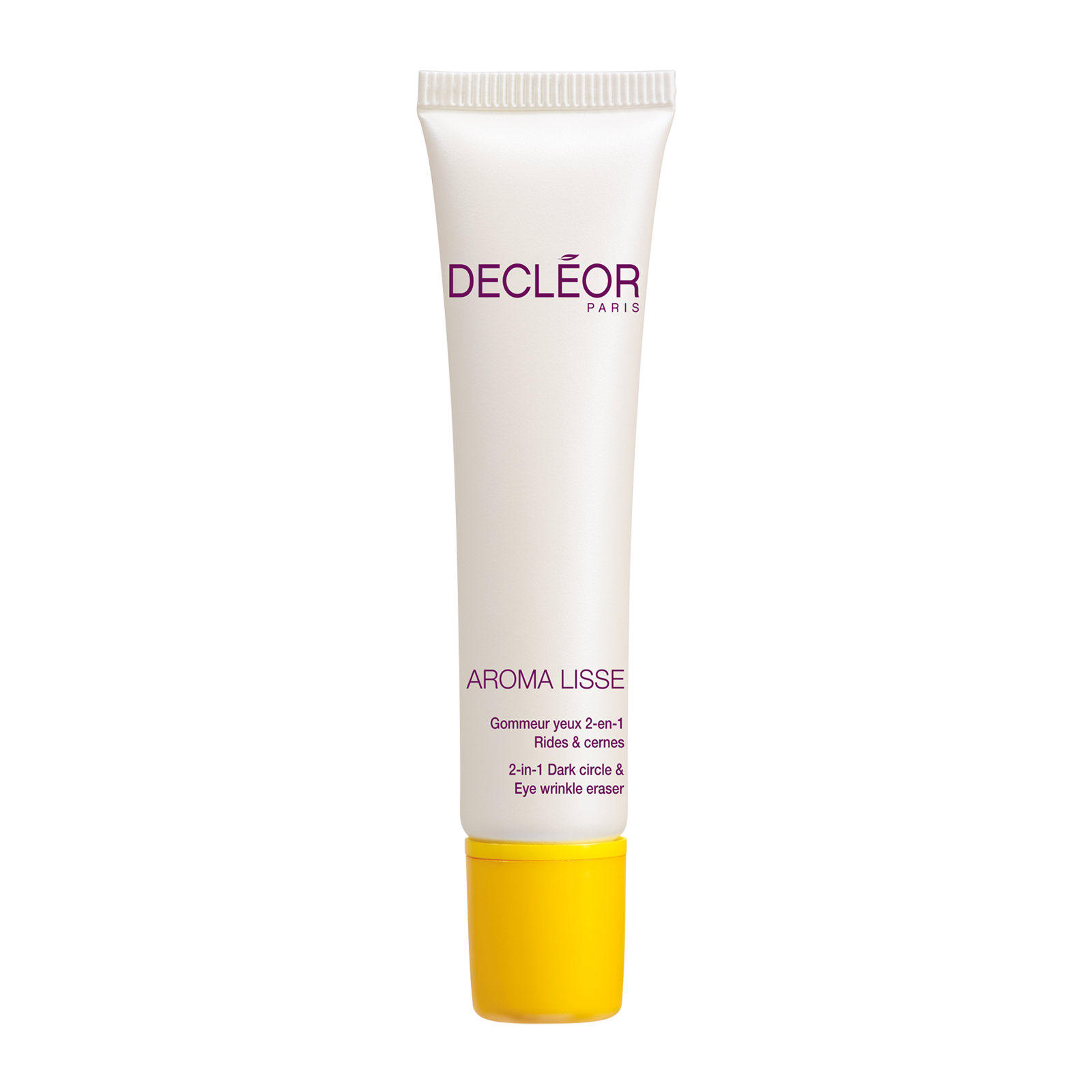 DECLEOR AROMA LISSE 2-IN-1 DARK CIRCLE & EYE WRINKLE ERASER 0.5 OZ