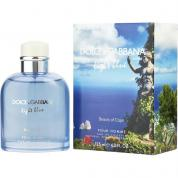 DOLCE & GABBANA LIGHT BLUE BEAUTY OF CAPRI 4.2 EDT SP FOR MEN
