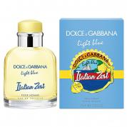 DOLCE & GABBANA LIGHT BLUE ITALIAN ZEST 2.5 EAU DE TOILETTE SPRAY FOR MEN