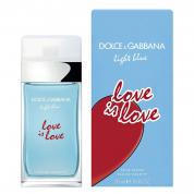 DOLCE & GABBANA LIGHT BLUE LOVE IS LOVE 1.7 EAU DE TOILETTE SPRAY FOR WOMEN