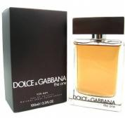 DOLCE & GABBANA THE ONE 3.4 EAU DE TOILETTE SPRAY FOR MEN