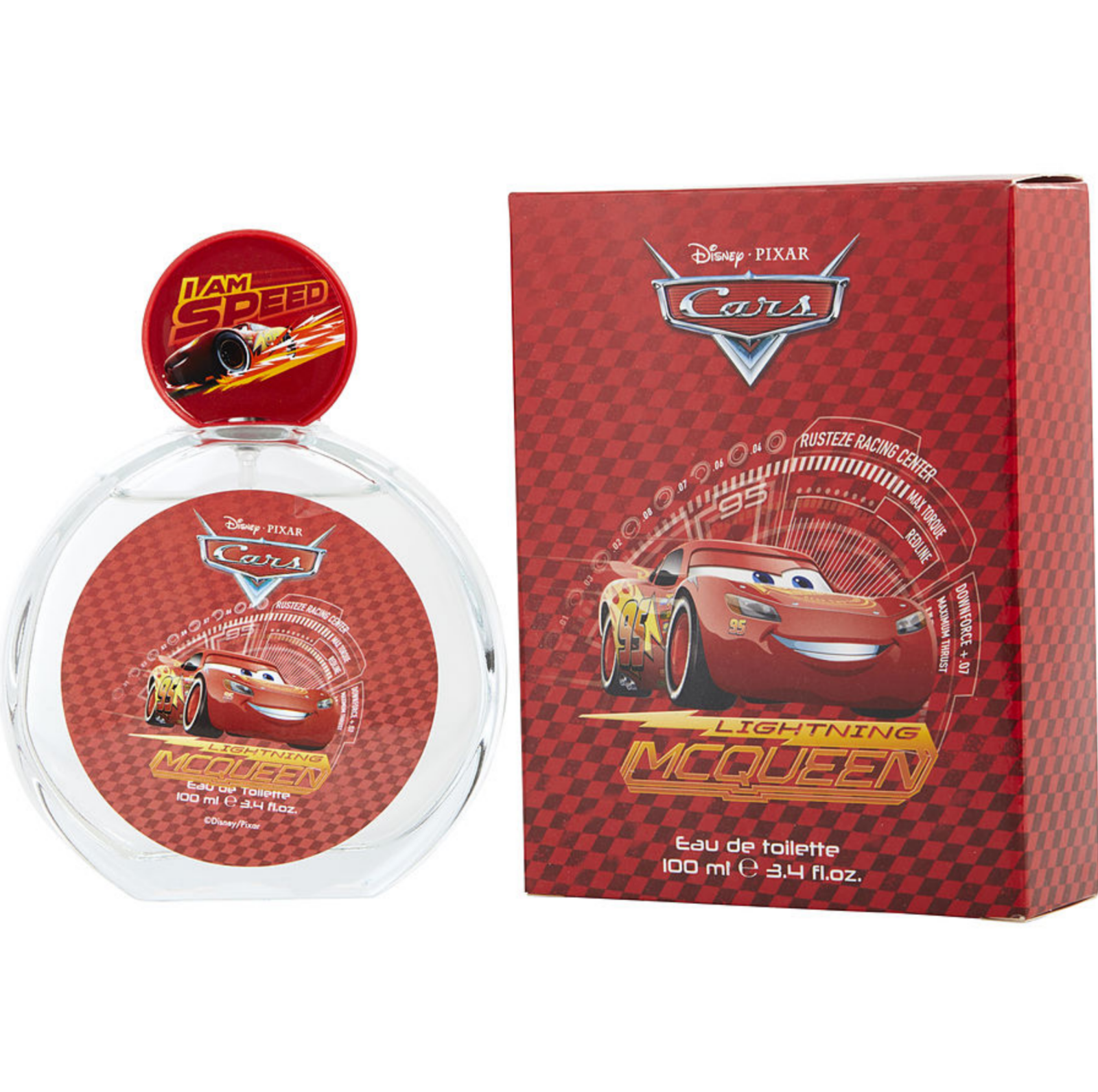 DISNEY CARS LIGHTNING MCQUEEN 3.4 EAU DE TOILETTE SPRAY