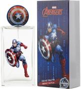 MARVEL CAPTAIN AMERICA 3.4 EAU DE TOILETTE SPRAY