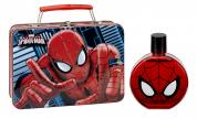 SPIDERMAN 2 PCS SET: 3.4 EDT SP + METAL LUNCH BOX