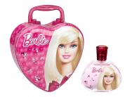 BARBIE 3.4 EDT SP + METAL LUNCH BOX