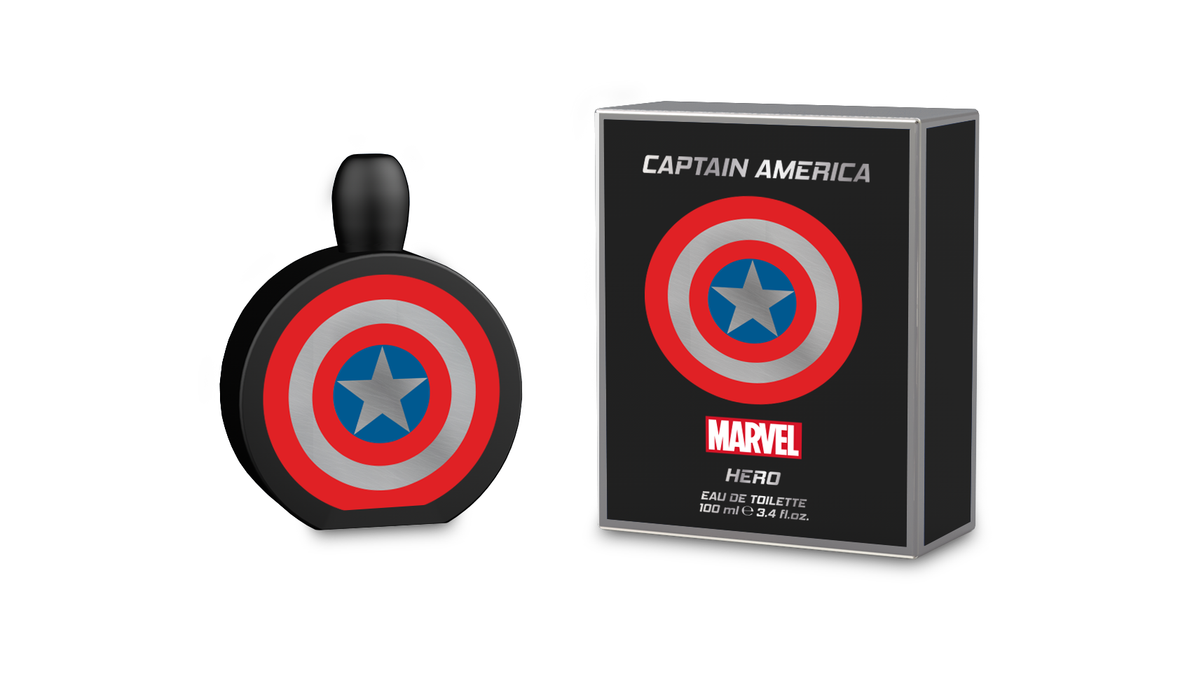 MARVEL CAPTAIN AMERICA HERO 3.4 EAU DE TOILETTE SPRAY