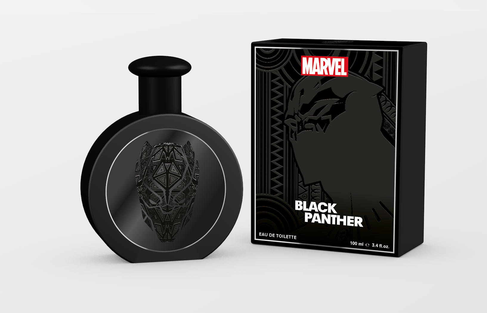 MARVEL BLACK PANTHER 3.4 EAU DE TOILETTE SPRAY