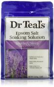 DR. TEAL'S PURE EPSOM SALT SOAKING SOLUTION SOOTHE & SLEEP WITH LAVENDER 3 LBS.