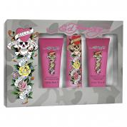 ED HARDY 3 PCS SET FOR WOMEN: 3.4 SP