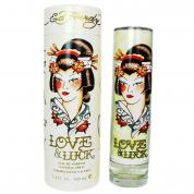 ED HARDY LOVE & LUCK 3.4 EDP SP FOR WOMEN