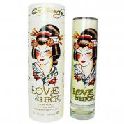 ED HARDY LOVE & LUCK 3.4 EAU DE PARFUM SPRAY FOR WOMEN