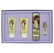 ED HARDY LOVE & LUCK 4 PCS SET FOR WOMEN: 3.4 SP