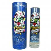 ED HARDY LOVE & LUCK 3.4 EAU DE TOILETTE SPRAY FOR MEN